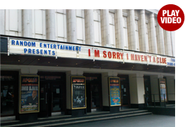 I'm sorry I haven't a clue tour Colin Sell and the team play Uxbridge English Dictionary